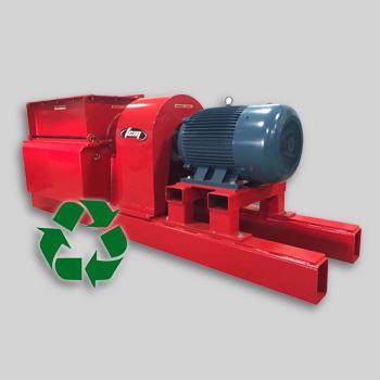 broyeur-dechiqueteur industriel pour recyclage