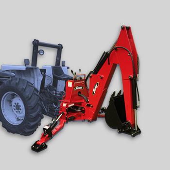 retrocaveuses pour tracteurs